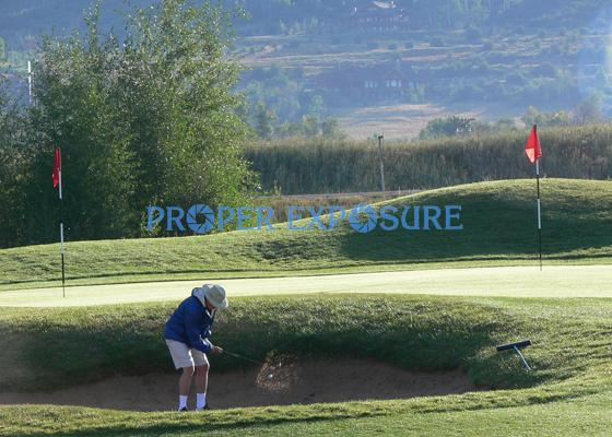 Golfing, Haymaker, Steamboat Springs, Colorado, Rocky Mountains, Ken Proper, Proper Exposure