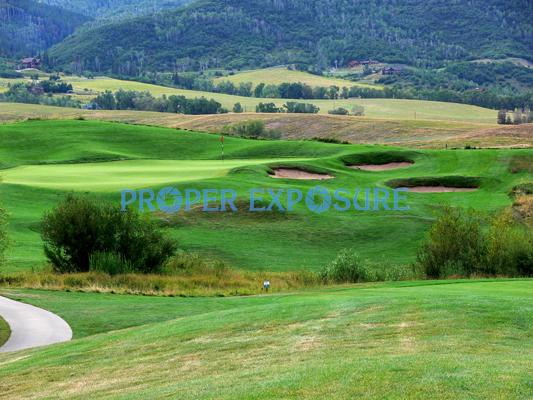 golfing, golf, Haymaker, Steamboat Springs, Colorado, bunker complex, Rocky Mountains, Ken Proper