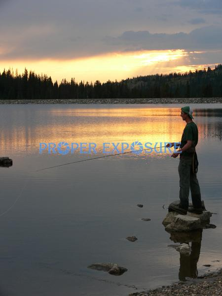 Fly fishing, brook trout, Fish Creek, Reservoir,