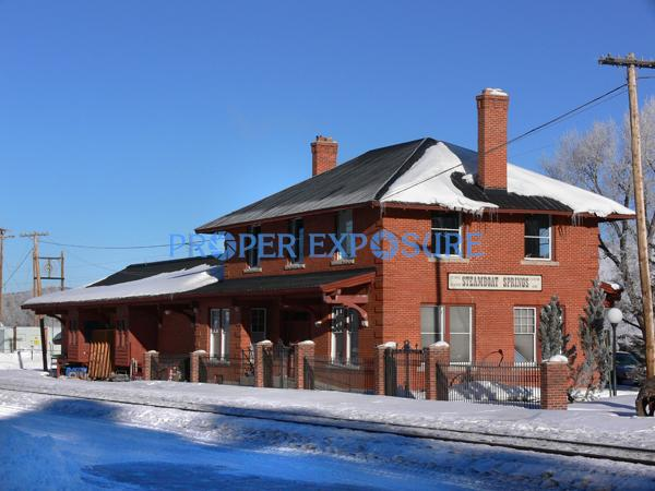 Historic, Depot, Art Center, Steamboat Springs, Colorado, downtown, Ken Proper