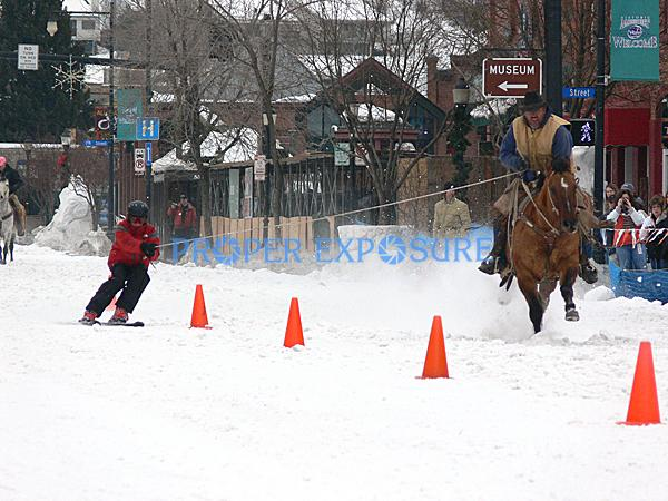 Winter, Carnival, Winter Carnival, downtown, street, event, events, Steamboat Springs, Colorado, Ken Proper, horse, cowboy, skier