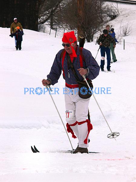 Winter, Carnival, Winter Carnival, downtown, street, event, events, Steamboat Springs, Colorado, Ken Proper, black powder, musket, vintage, skier, biathalon