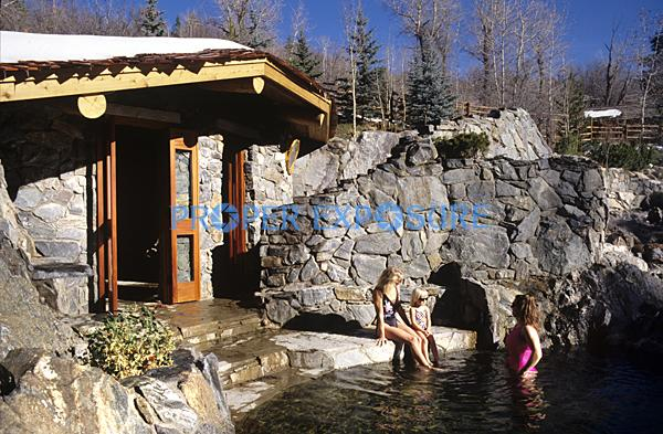 Strawberry, Park, Hot, Springs, Steamboat, Springs, Colorado, CO, Routt, County, Mineral, water, swimming, pool, pools, Ken Proper, soak, bath, children, kids, steam, females, mother