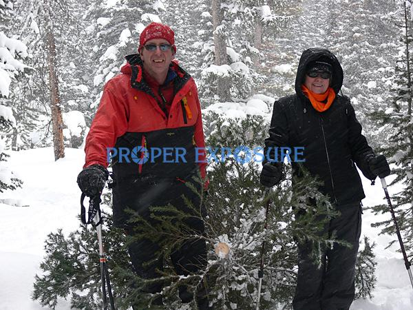 Nordic, family, skiing, dog, group, winter, snow, Routt, forest, Christmas, tree, Steamboat, Springs, Colorado, CO, Ken Proper