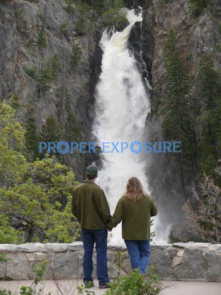 Fish Creek, Falls, couple, Spring, runoff, high, white, water, summer, Steamboat, Springs, Ken Proper, Colorado