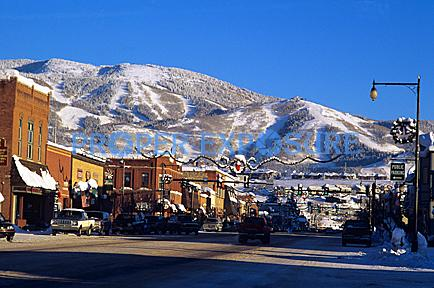 downtown,Steamboat Springs, Colorado, Rocky  Mountain, Ken Proper