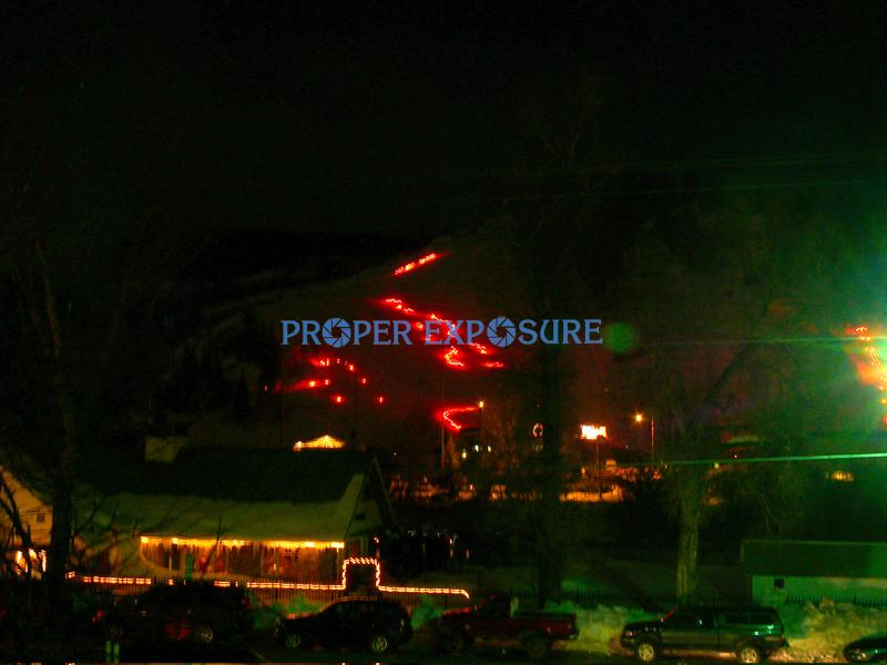 Howelsen, Hill, torchlight, parade, winter, snow, fireworks, ski, ski area, Steamboat, Steamboat Springs,  Colorado, downtown, winter carnival