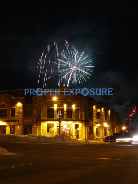 Howelsen, Hill, winter, snow, fireworks, ski, ski area, Steamboat, Steamboat Springs,  Colorado, downtown, winter carnival, Victorian, new construction