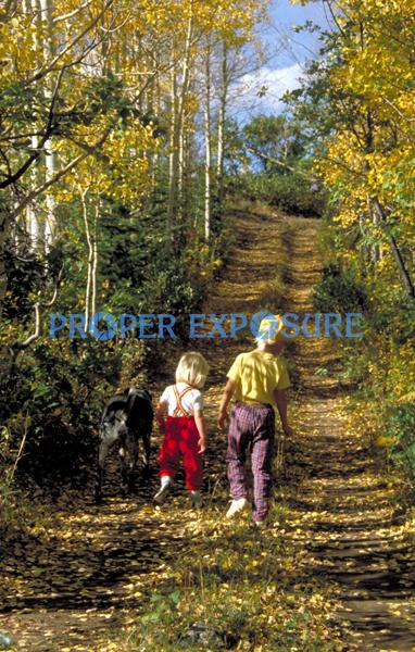 children, kids, Emerald mountain, mt, hiking, fall colors, Steamboat Springs, Colorado, Rocky  Mountain, Ken Proper