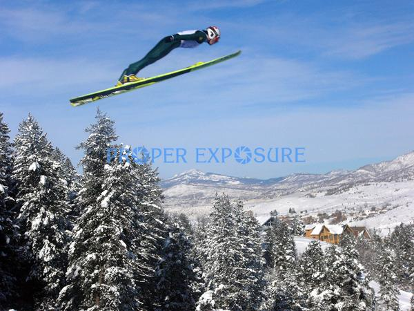 ski jumper, Howelson, Howelsen, Hill, Steamboat Springs, Colorado, Rocky  Mountain, Ken Proper
