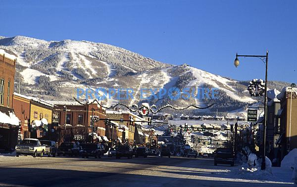 Downtown, Steamboat Springs, Colorado, Rocky Mountains, Ken Proper,